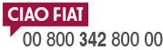 CIAO FIAT 00 800 342 800 00